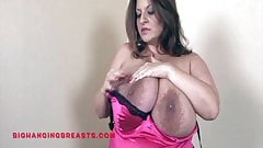 Dicke schwangere Titten