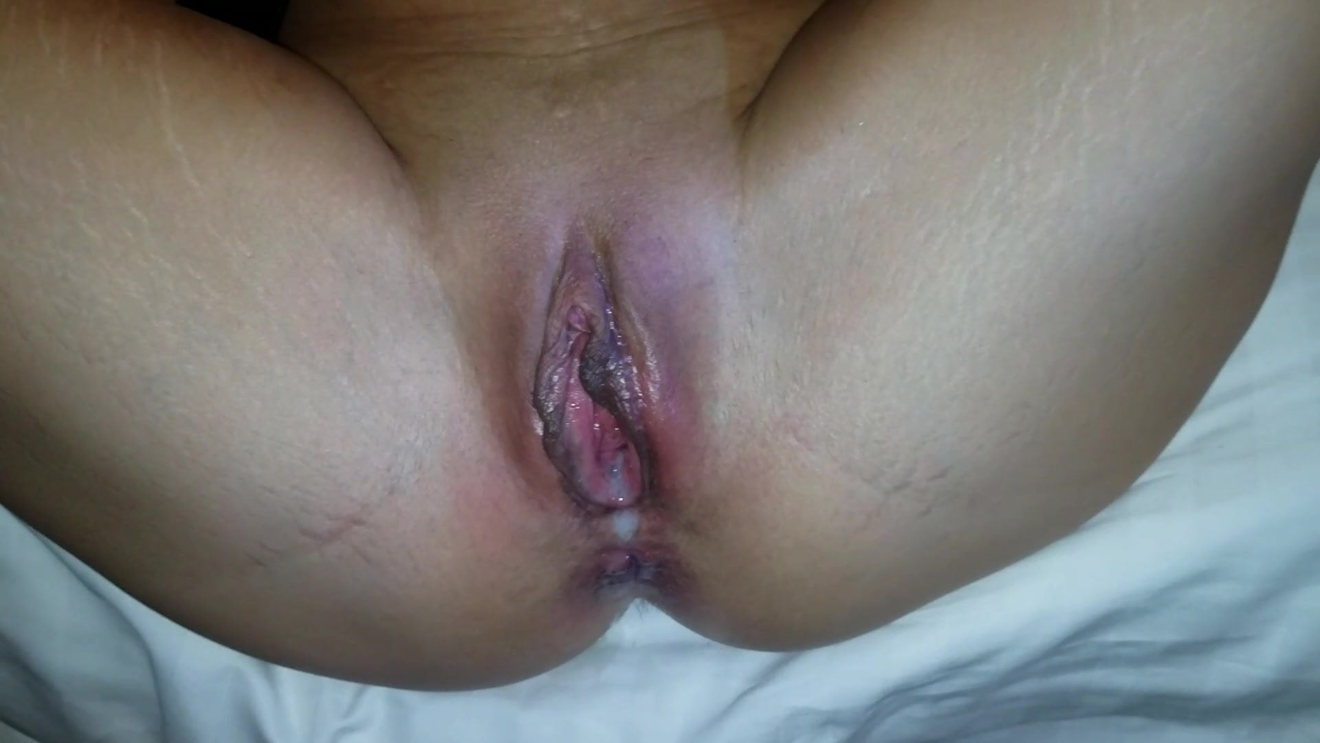 Small Wife Big Dick Creampie