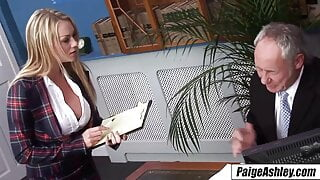 Paige Ashley the life of the party double penetration riding