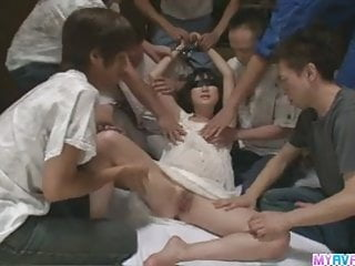 Gates of hell sex Mega gangbang fucked the hell out of little ito aoba