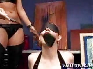 Hardcore sex train Training for slave doll