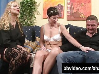 Couple seeking woman for threesome German couple fucking with a mature woman