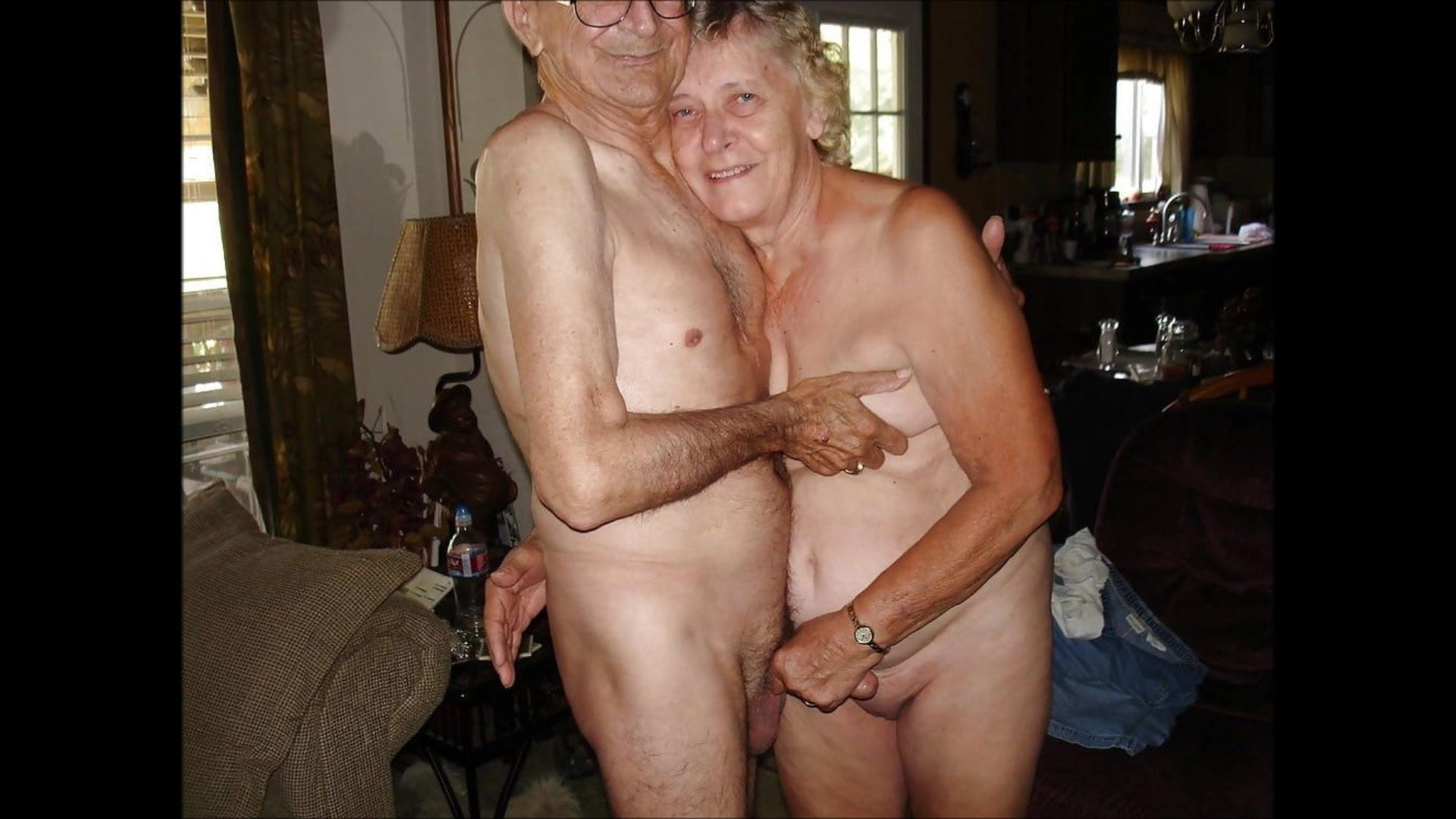 Mature Young Couple Swing
