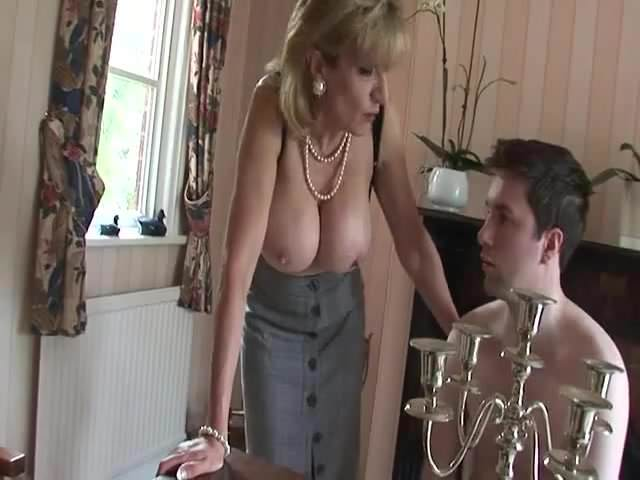 Young Man Eating Milf Pussy