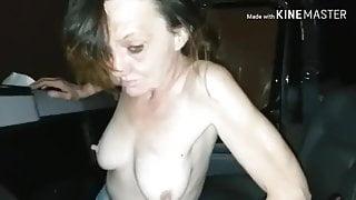 Slut in my truck 5