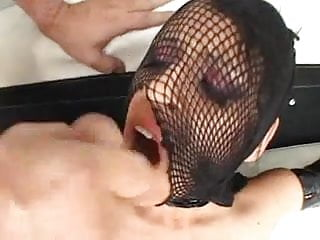 Evil fucked up layouts Mouth cumshot - evil red