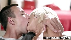 Horny granny loves to fuck