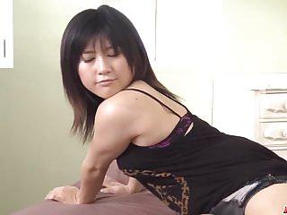 Japanese tight shaved hole - Milf kyoka mizusawa drives young cock into her tight holes