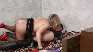 Russian stepmom shows some love.