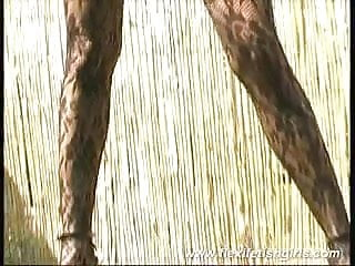 Teen sandy latex - Pornstar sandy posing flexible