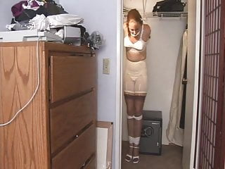 Milf locked outside naked - Milf locked in closet