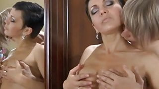 hot russian mature gets fucked by her boytoy
