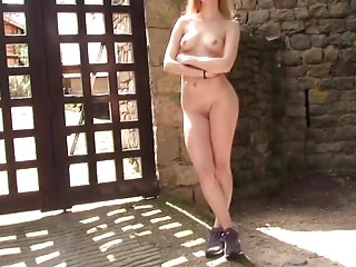 Nude ramp walk videos Outdoor nude walk 4