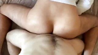 23cm MOnster cock fucks nice ass