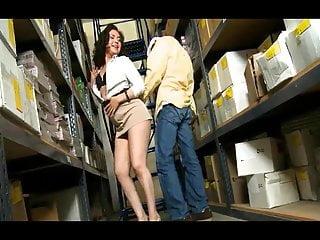 Selna gomez naked Eva gomez takes on ramon in the stockroom