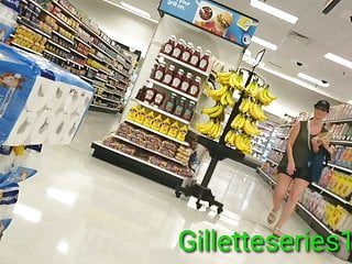 Erotic chix Candid random mix of few chix shopping