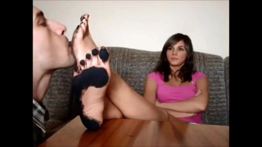 Sloppy Lesbian Foot Worship