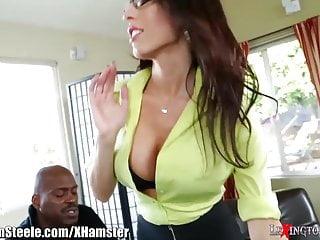 White girlssucking their first black dick Dava foxxs first black dick is a foot long