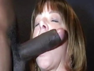 Gay boy cock cum - Mature woman needs to feel the taste of cum of a black boy
