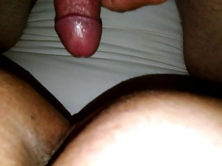 Watch penis thrust into pussy - Sliding it in for a couple thrusts