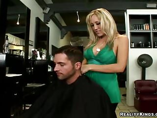 Tiki barber nudes Caught on at the barber shop