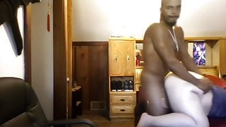 Brotha takes on somebodys wife on cam