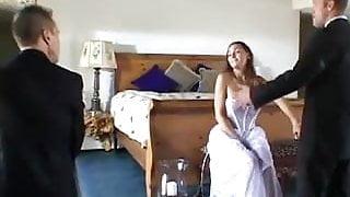 slut dp'ed on her wedding day