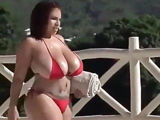 Black and red bikini - Red bikini