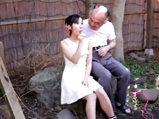 Old man asian sex - Japanese girl with old man and friends-by packmans-cens.