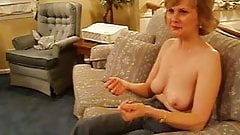 Sexy granny sucking dick