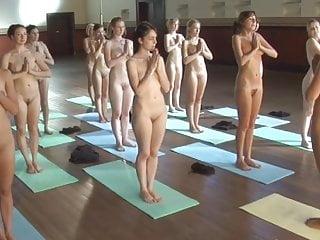 Tasteful nude yoga Nude yoga