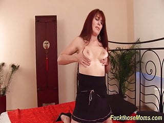 Brutal mature - Redhead hairy mature rough fucked