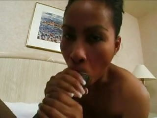 Asian vs black Asian babe vs huge black cock