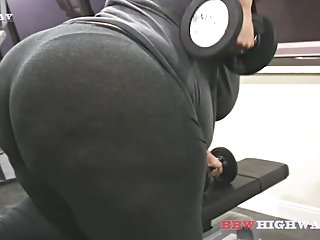 Geisha khe Big butt bbw geisha grimm works out with ludus adonis