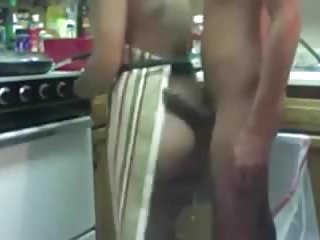 Nerdy boys naked - Naughty naked mommy and boy fun in the kitchen